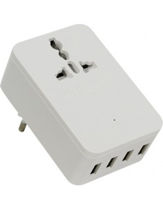 Orico S4U 20W USB Wall Charger White