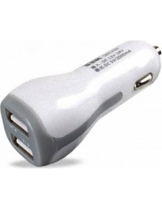 SSK SDC220 White Car Charger