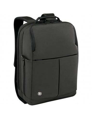 Wenger  Reload 16 inch Laptop Backpack with Tablet Pocket, Gray