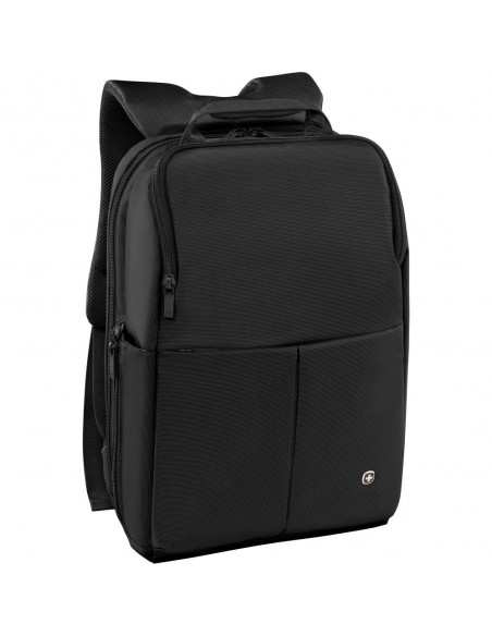 Wenger Reload 14 inch Laptop Backpack with Tablet Pocket, Black