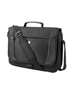 "Geanta laptop HP Essential Messenger Case, 17.3"", material textil, neagra"