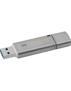Memorie externa Kingston DataTraveler Locker+ 64GB cu criptare hardware USB 3.0