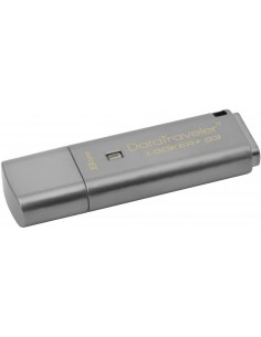 Memorie externa Kingston DataTraveler Locker+ G3 8GB cu criptare hardware USB 3.0