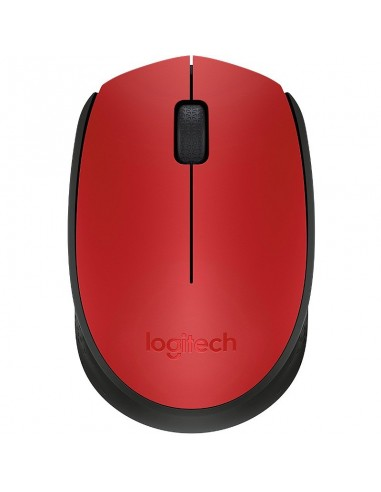 Mouse Logitech M171 red