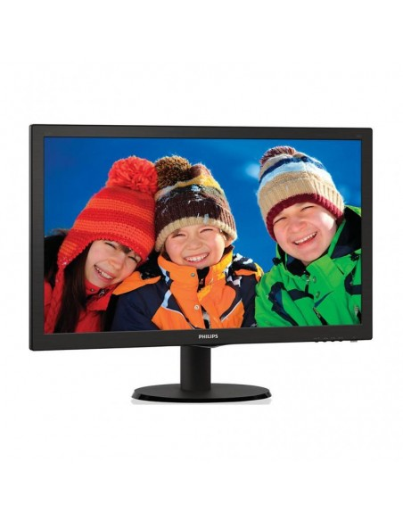 Monitor LED Philips 223V5LSB2/10 21.5 inch 5ms black