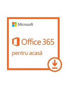 Microsoft Office 365 Home, 32/64 bit, All Languages, Subscriptie 1 an - 5 PC, pt PC/Mac, Telefon/Tableta, Licenta Electronica