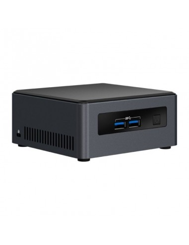 Mini Sistem PC Intel (NUC) NUC7I3DNH2E, i3-7100U 2.4GHz, 2x DDR4 32GB max, M.2 SSD, HDD 2.5 inch, Wi-Fi, Bluetooth, HDMI, Bulk