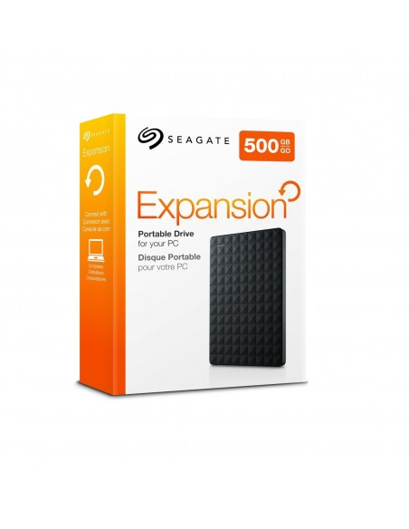 "HDD extern Seagate Expansion Portable 500GB, 2.5"", USB 3.0, Negru"
