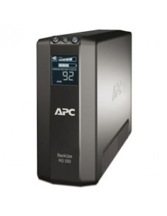 UPS APC BACK 550VA/330W, LCD Display
