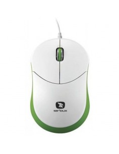 Mouse Serioux Rainbow 680 green