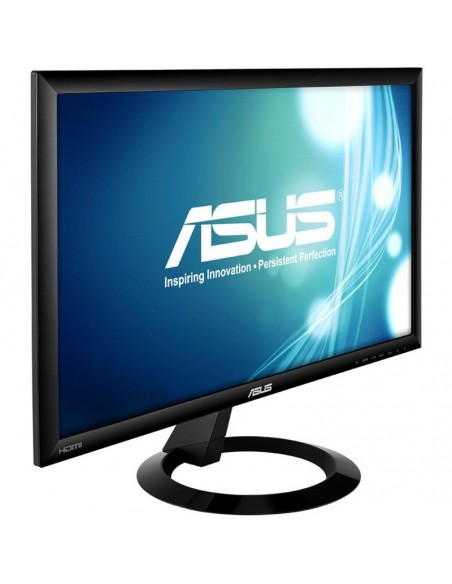 "Monitor 19"" ASUS LED VB199T, IPS panel, 1280x1024, 16:9, 5 ms, 250 cd/mp, D-Sub, DVI-D, boxe, Kensington Lock, Vesa, Negru"
