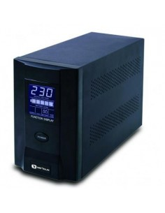 UPS Serioux, ProtectIT 1000S, ProtectIT 1000S, 1000VA, 8min back-up (half load), 2 batteries, LCD screen, black