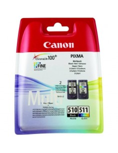 Cartus cerneala Canon PG-510 + Cl-511, multipack (black, color)