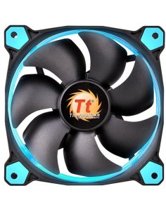 Ventilator Thermaltake Riing 14 High Static Pressure 140mm Blue LED fan