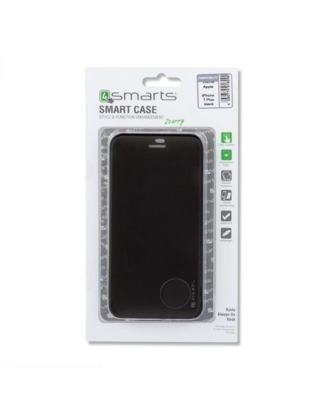 Husa Book 4smarts KYOTO Always-On iPhone 7/8 Plus Black