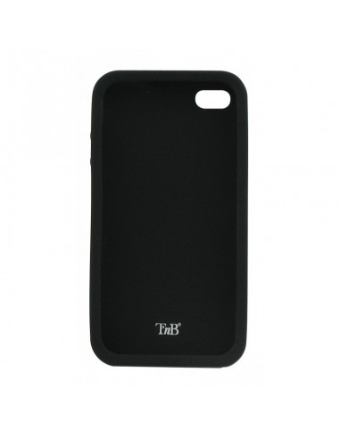 TnB  SILICON CASE FOR IPHONE BLACK + SCREEN PROTECTION