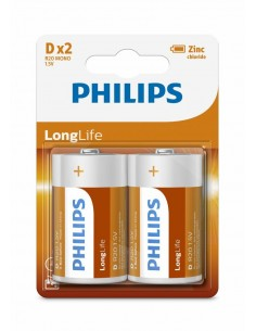 Philips LongLife D 2-blister