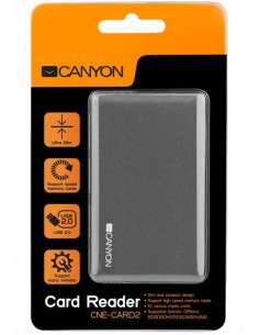 Card Reader Extern Canyon All-In-One CNE-CARD2 Gri