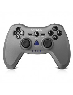 Gamepad Wireless Canyon CNS-GPW6 pentru PC/PS2/PS3, Argintiu