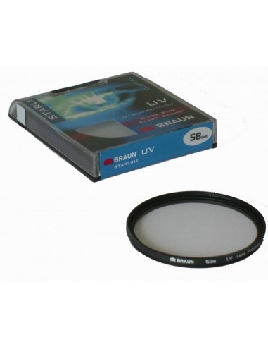 BRAUN  Starline UV Filter 58 mm