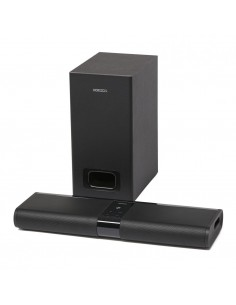 Soundbar Horizon, 2.1CH, 120W (30W x 2 + 60W), subwoofer wireless, bluetooth, nfc, negru, HAV-S2400W
