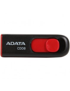 USB Flash Drive ADATA 16Gb, C008, USB2.0, negru