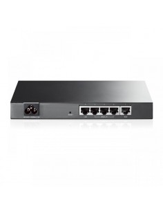 Router TP-Link TL-R470T+, 1xWAN 10/100, 1xLAN 10/100, 3xWAN/LAN configurabile, Small Office and Net Café, Load Balance, Advanced