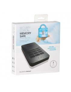 "HDD extern IS, 1TB, Memory Safe, 2.5"", USB 3.0, Real-time encryption, Self-destruction mechanism, Negru"