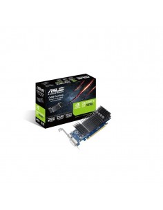 Placa video Asus NVIDIA GeForce GT 1030, GT1030-SL-2G-BRK, PCI Express 3.0, GDDR5 2GB, Engine Clock: OC Mode - GPU Boost Clock :
