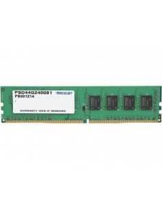 Memorie RAM Patriot, DIMM, DDR4, 4GB, 2400MHz, CL16, 1.2V