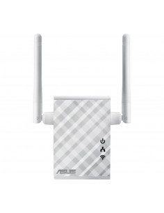 Wireless Range Extender Asus, N300, 2 antene externe, wall plug, multi- function, 1 port 10/100Mbps, Access Point / Range Extend
