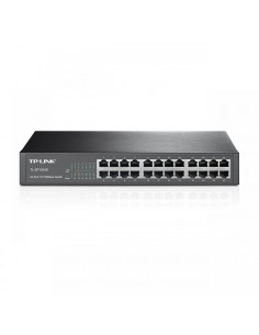 "Switch TP-Link TL-SF1024D, 24 porturi 10/100Mbps, Desktop/ Rackmount, 13"" metal"