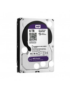 "HDD intern WD, 3.5"", 6TB, PURPLE, SATA3, IntelliPower (5400rpm), 64MB, Surveillance HDD"
