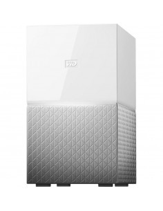 NAS WD, 2 Bay, 4TB, My Cloud Home Duo, Gigabit Ethernet, USB 3.0 expansion port (x2), Dual-drive storage, Password protection,