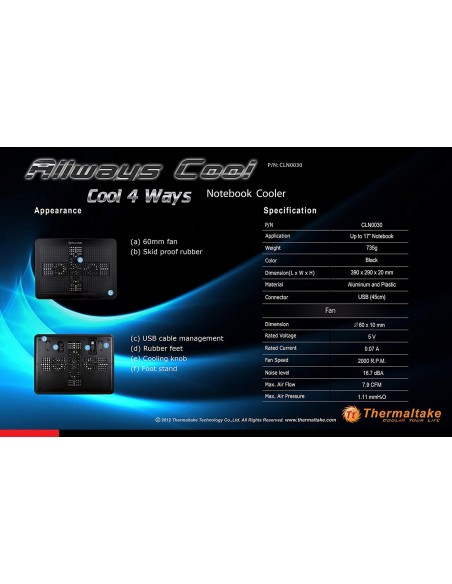 Stand Racire Thermaltake Allways Cool