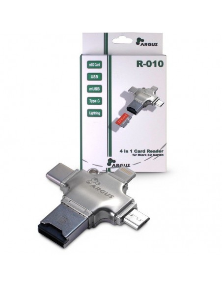 Cititor carduri Inter-Tech Argus R-010 USB 2.0