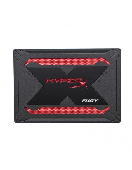 "SSD Kingston, HYPERX Fury RGB, 240GB, 2.5"", USB 3.0, R/W speed: up to 550MB/s/up to 480MB/s, Iluminat RGB cu efecte dinamice"