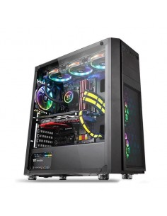 Carcasa Thermaltake Versa H26 Tempered Glass Black, fara sursa