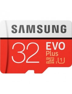 Card de memorie Samsung Micro-SDHC EVO Plus 32GB, Class 10, UHS-I + adaptor SD