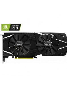 Placa video Asus NVIDIA DUAL-RTX2080-8G, Graphics engine: NVIDIA GeForce RTX 2080, PCI Express 3.0, GDDR6 8GB, 256-bit