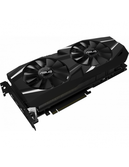 Placa video Asus NVIDIA DUAL-RTX2080-O8G, Graphics engine: NVIDIA GeForce RTX 2080, PCI Express 3.0, GDDR6 8GB, 256-bit
