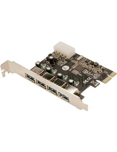 CARD LOGILINK adaptor PCI-Express la 4 x USB3.0 - PC0057A