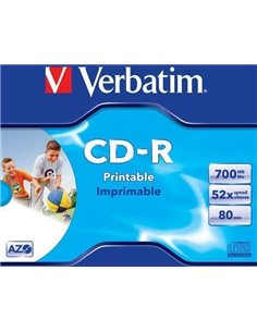 CD-R VERBATIM 700MB - 43325