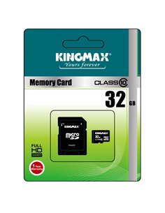 MicroSD KINGMAX SDHC 32GB (Class 10) + adaptor SD - KM-PS04-32GB