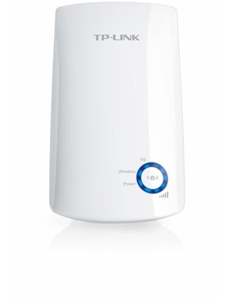 Wireless Range Extender TP-link, N300, Wall Plugged, 2.4GHz, 2 antene interne