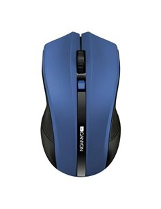 Mouse Optic Canyon CNE-CMSW05BL, USB Wireless, Blue-Black