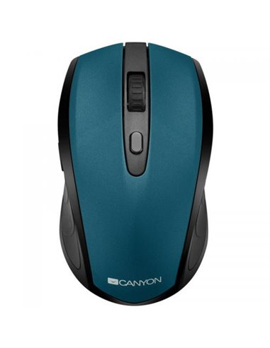 Mouse Optic Canyon 2in1 CNS-CMSW08G, USB/Bluetooth, Black-Green