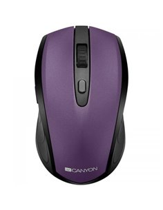 Mouse Optic Canyon 2in1 CNS-CMSW08V, USB/Bluetooth, Black-Purple