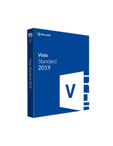 Aplicatie Microsoft Licenta Electronica Visio Standard 2019, All languages, ESD