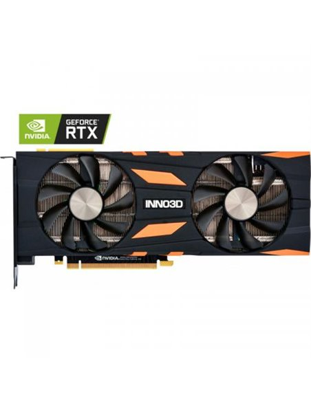 Placa video Inno3D nVidia GeForce RTX 2070 X2 OC 8GB, GDDR6, 256bit